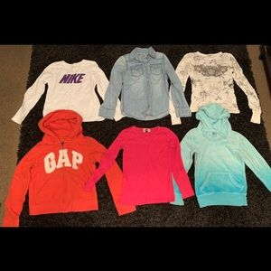 Shirts & Tops - 17 Pieces Girls Clothing Size 7/8